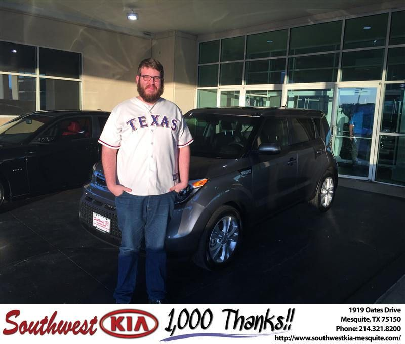 Congratulations to Samuel Blount on your #Kia #Soul purchase from Clinton Miller at Southwest Kia Mesquite! #NewCar