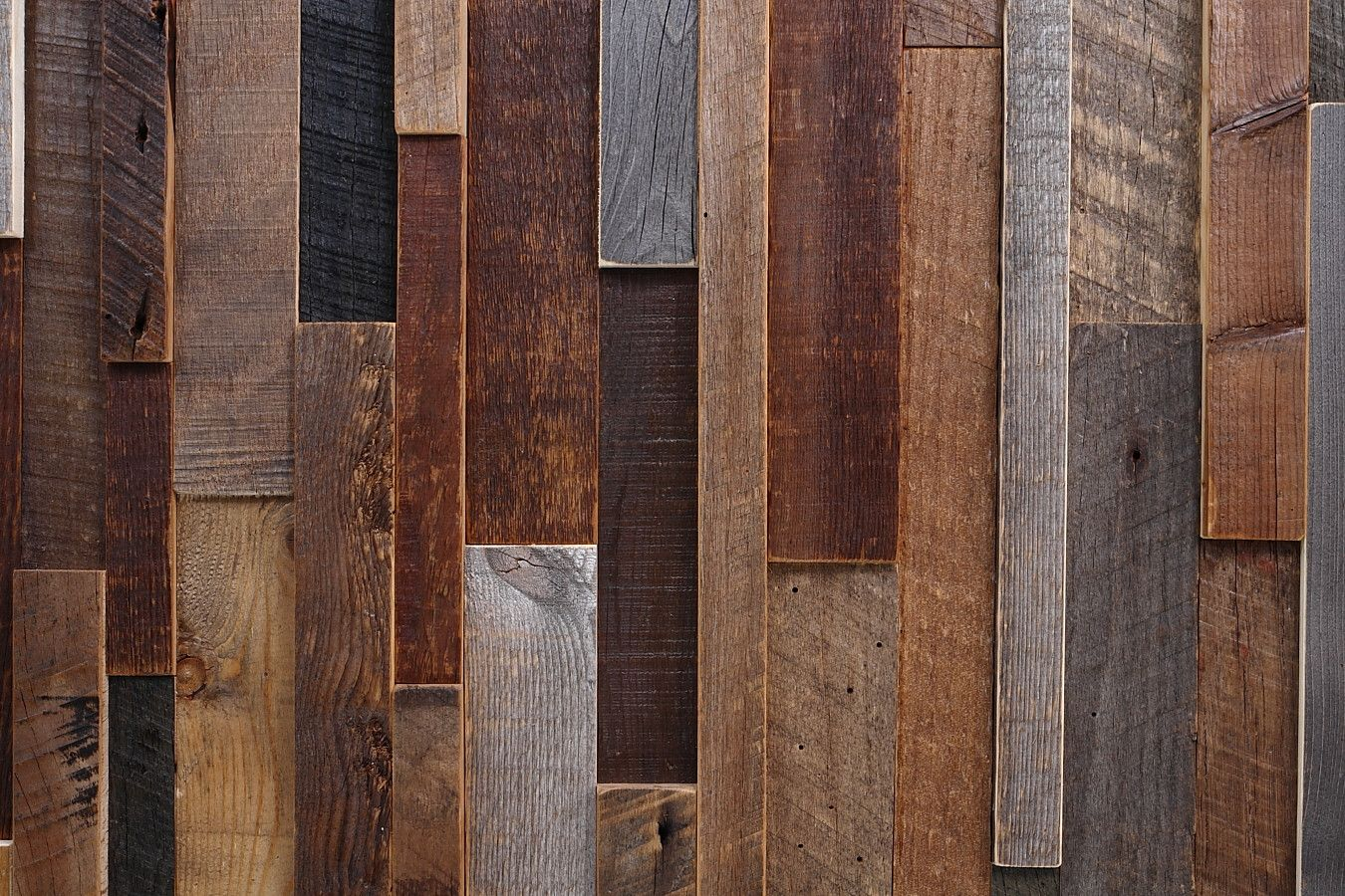 walls made out of reclaimed wood