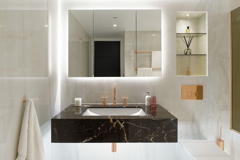 Bagno ecologico ~ Mobili bagno sospesi dalle linee morbide ed eleganti essenziale e
