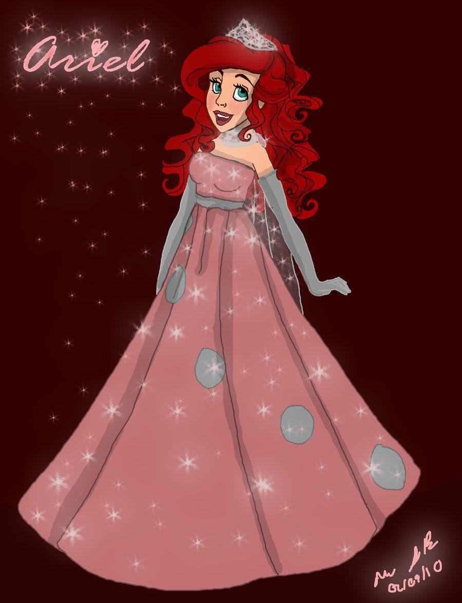 Ariel Gets a new Dress | LAS POPULARES: | Pinterest