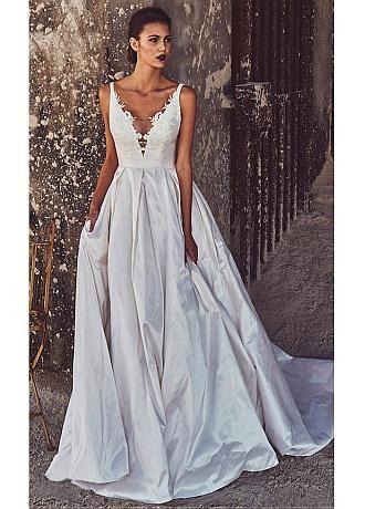 aspecto de encaje Vestidos de boda de descuento , Vestidos de bodade ...