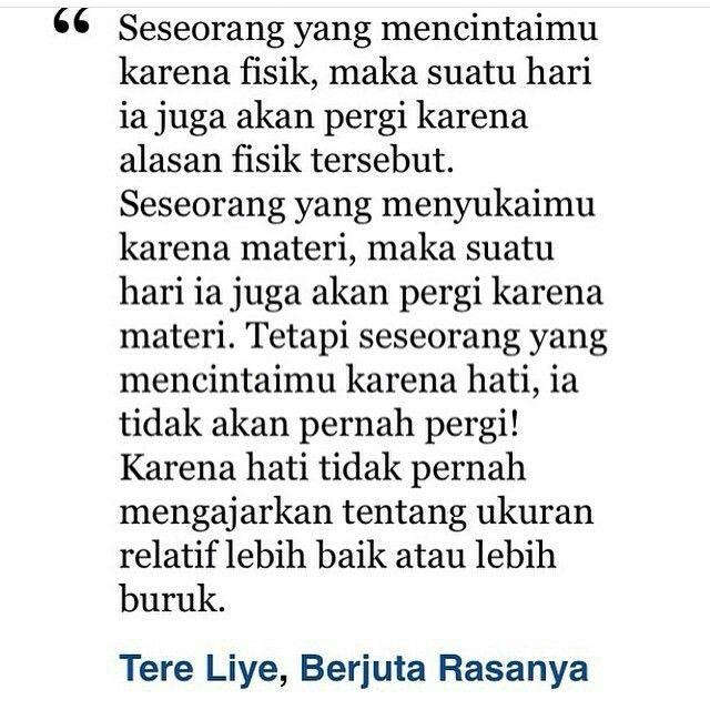 Tere Liye Quotes Dengan Gambar Kata Kata Indah Motivasi