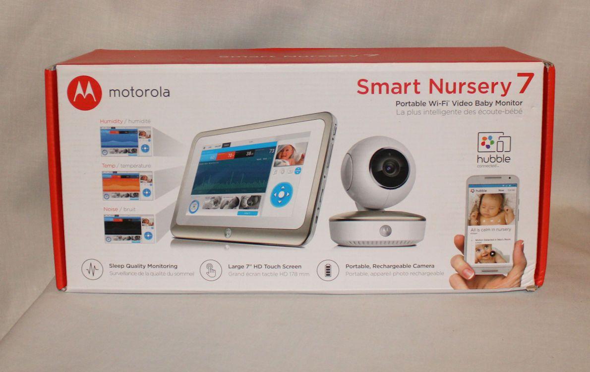 Motorola Smart Nursery 7 Dual Mode Baby Monitor w/ Camera