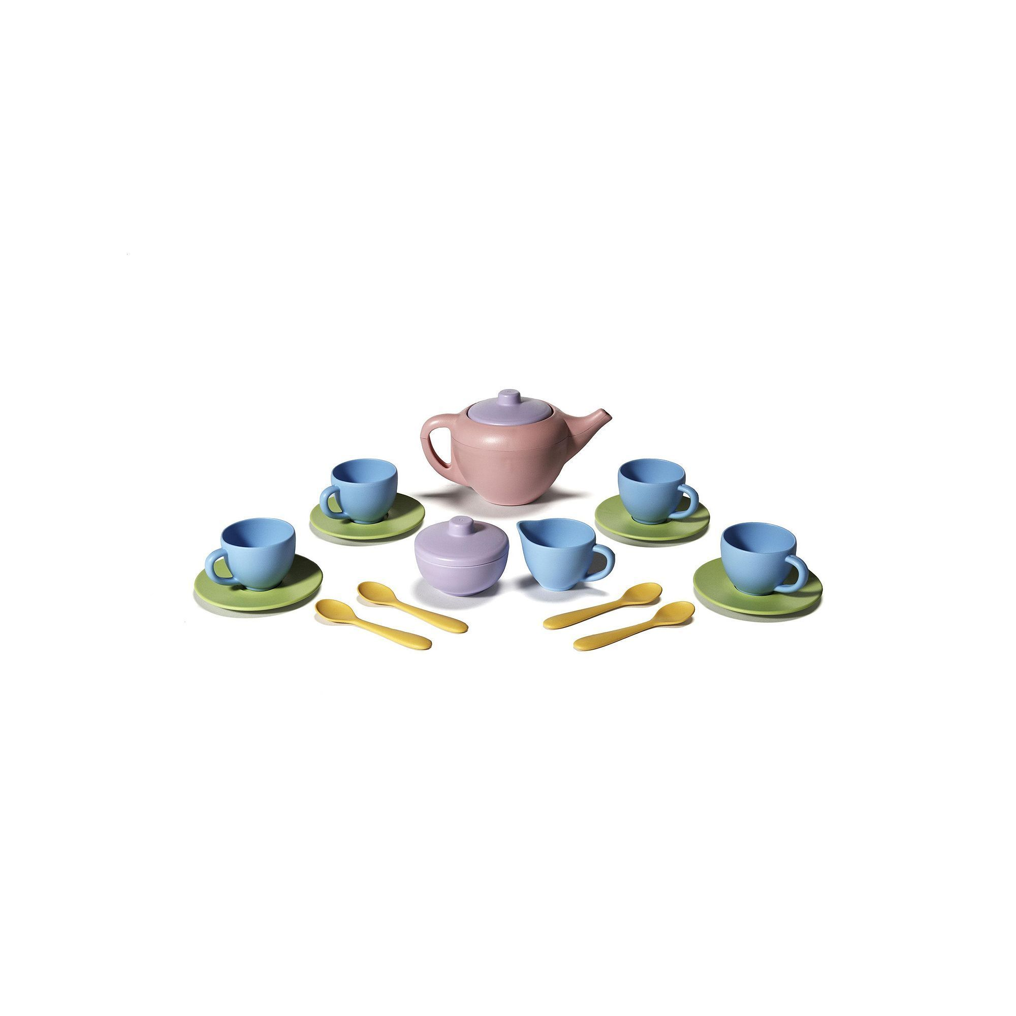 Green Toys Tea Set, Multicolor   Products   Pinterest   Products