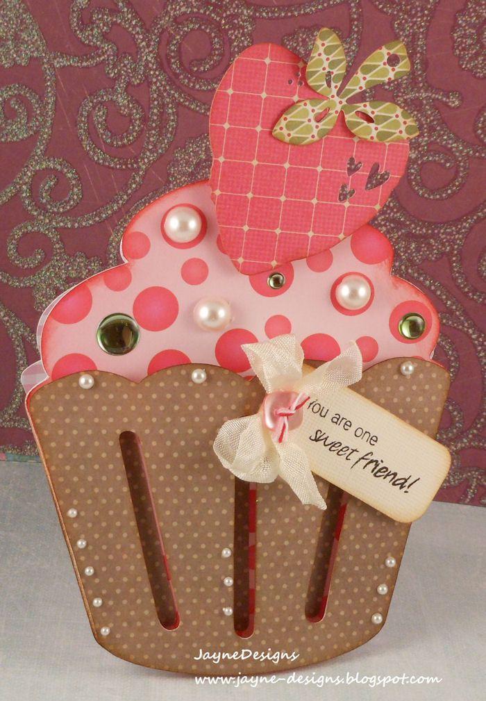 Скрап открытки кекс