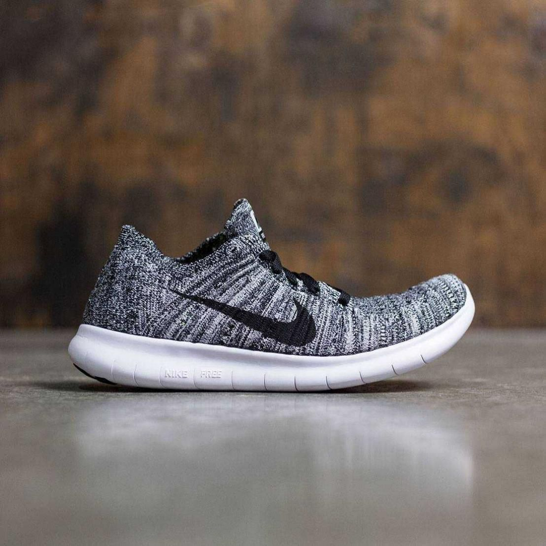 c1074bac24c3 ... low cost womens nike free run rn flyknit running sneakers white black  831070 100 ba3a0 4f2c1