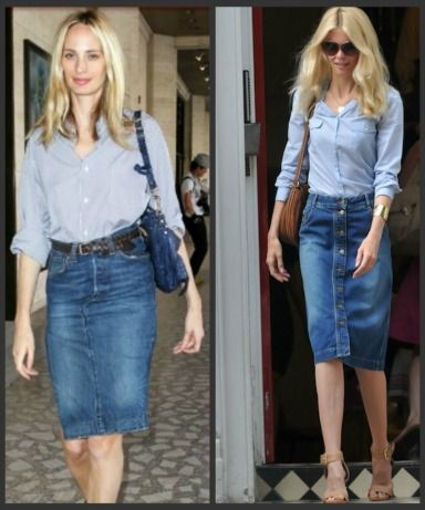 1969 denim pocket skirt - love it! Can't wait to wear :) | Outfit ...