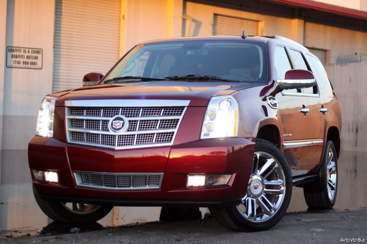 2016 cadillac escalade vsport red