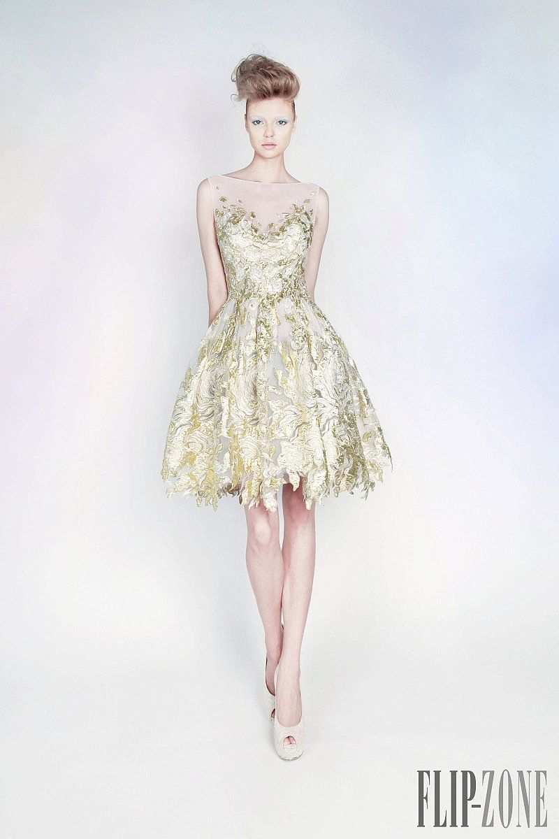 "Rami Kadi ""Les jardins suspendus"", S/S 2013 - Couture"