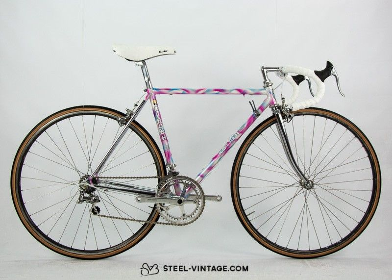 Steel Vintage Bikes - Albuch Kotter Rare Racing Bike from the Late 1980s