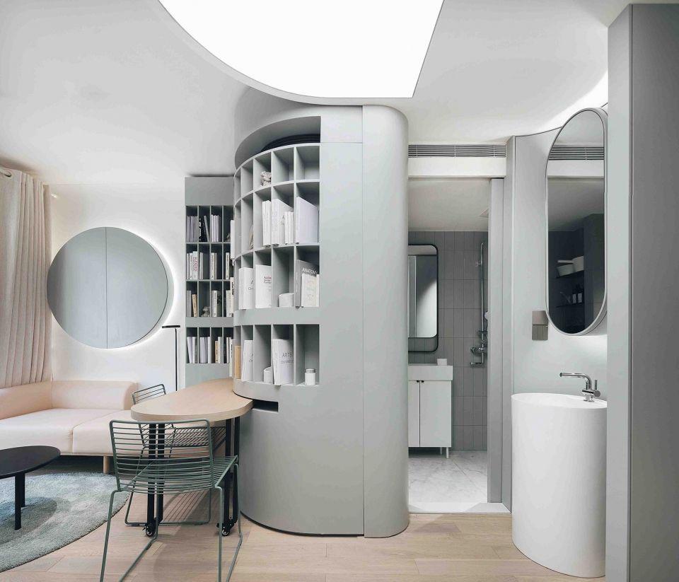 落差巨大的家 杭州 Pone Architecture 谷德设计网 Interior