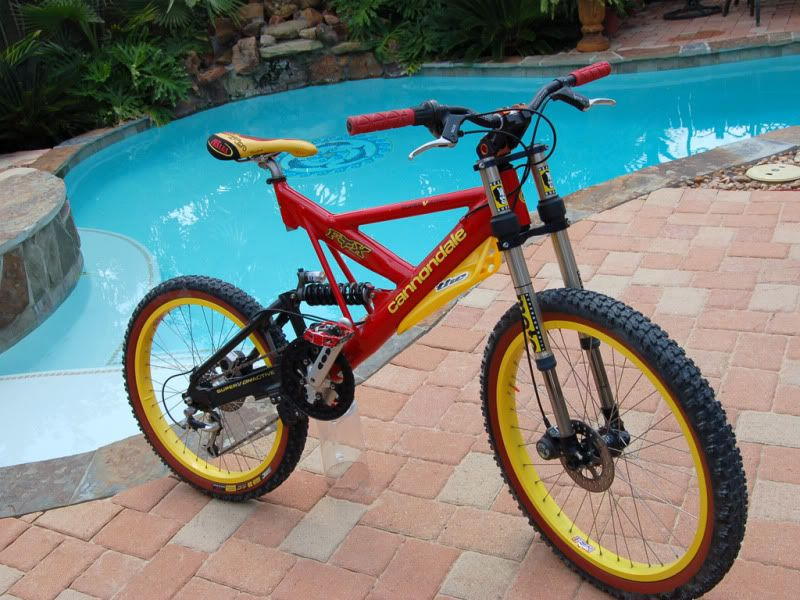 decac4501d7 Cannondale super V 800, because it was good enough for Missy Giove ...