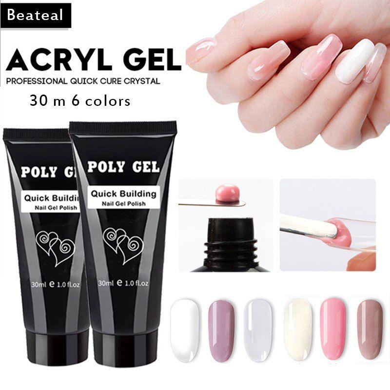 Polygel nail extension kit | Polygel nails, Nail forms
