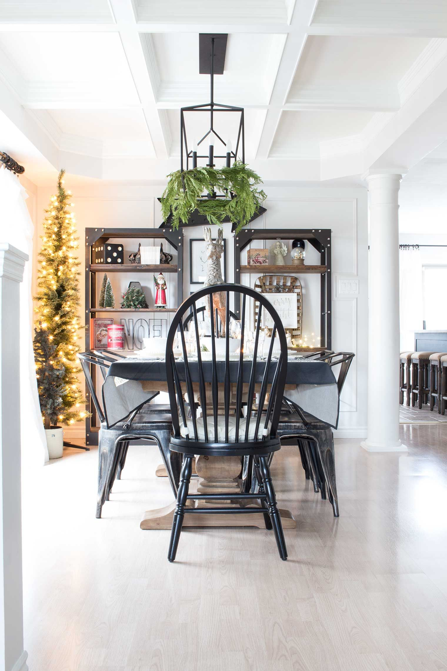 A Nostalgic Farmhouse Style Christmas in the Canadian