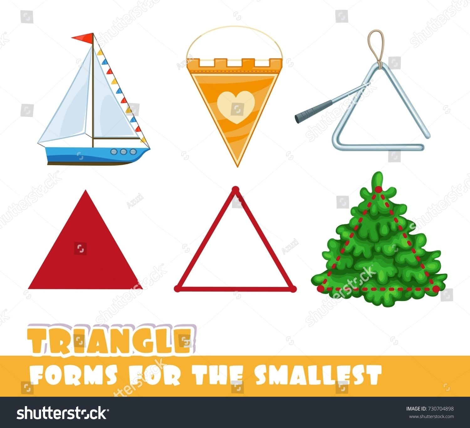Forms For The Smallest Triangle And Objects Having A