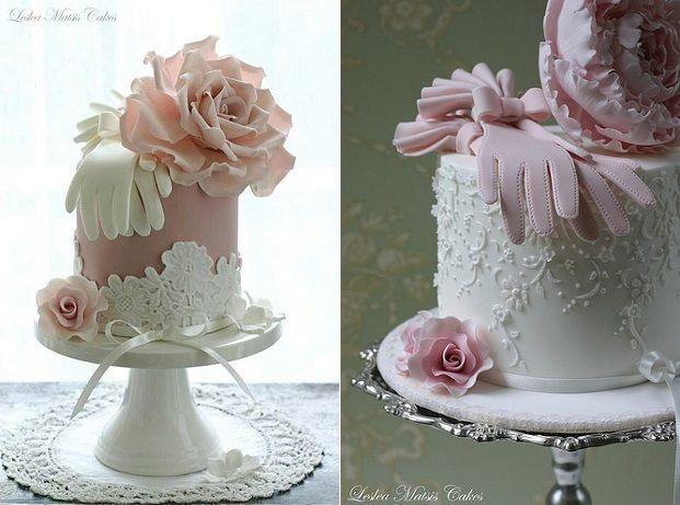 Gumpaste Gloves Vintage Cakes By Leslea Matsis Cake Design New Zealand
