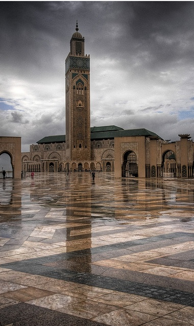 Hassan II Mosque, Casablanca , Morocco , from Iryna