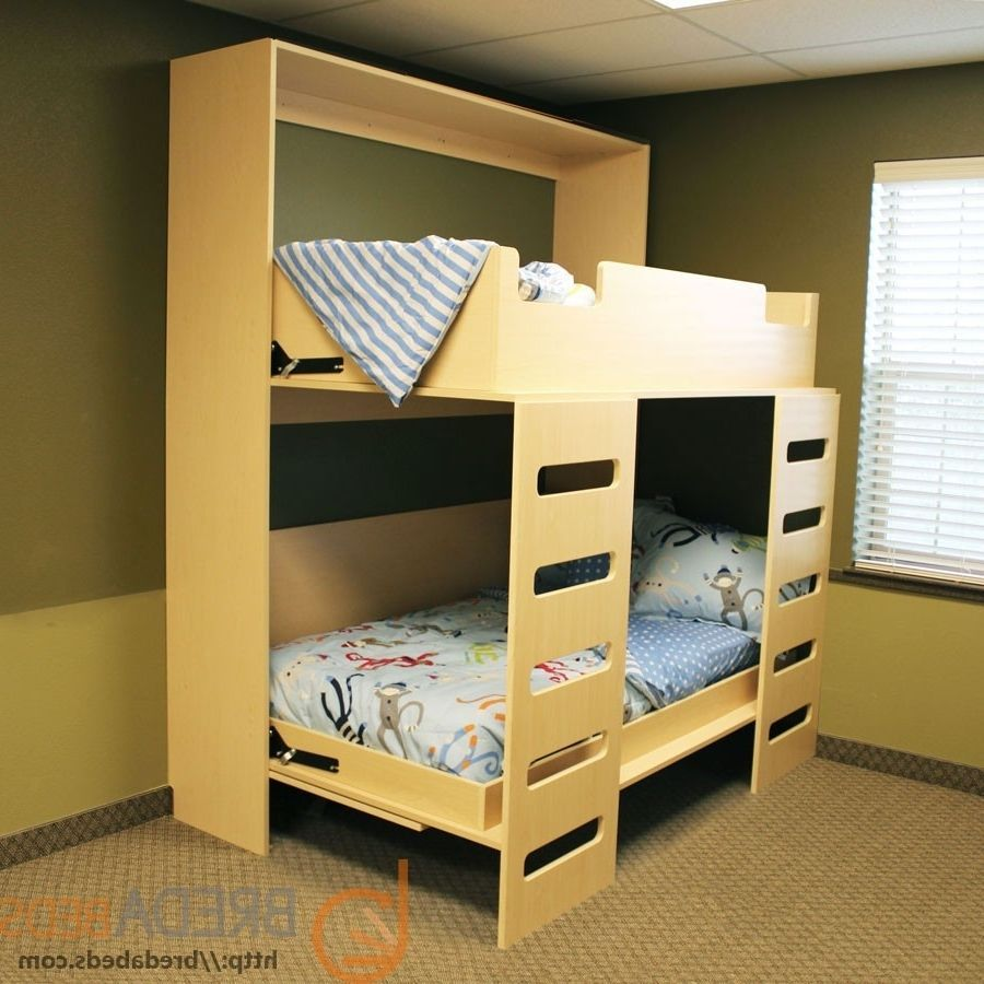 Twin Bunk Murphy Bed Plans Woodworking intended for