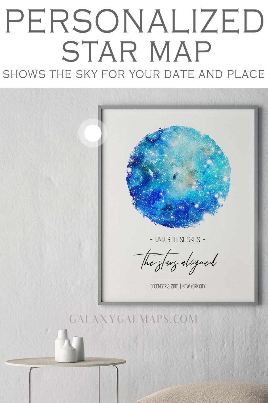 Horoscope Birthday Gift 40th Present Different Unusual