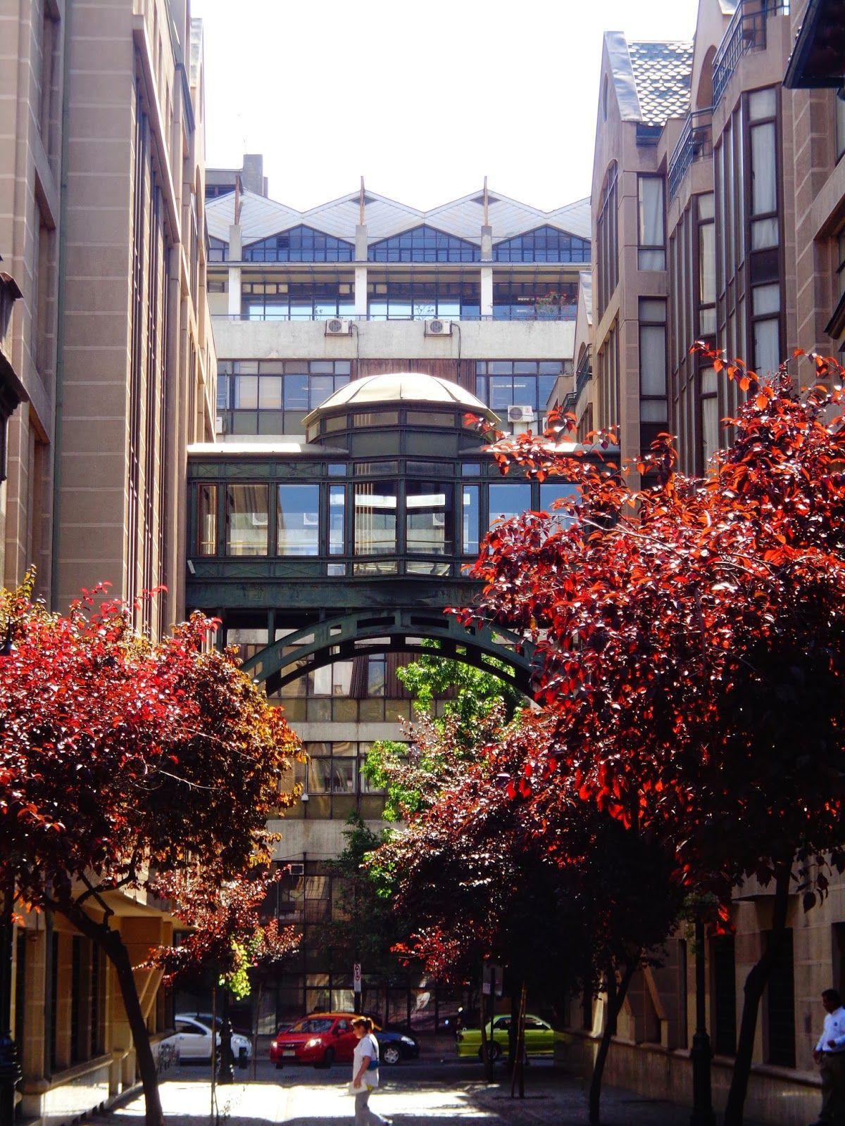 barrio paris londres, santiago, chile.