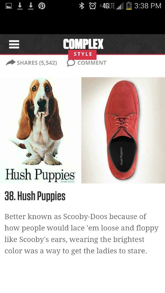 Hush Puppies Hush Puppies 90s Fashion Hush Hush