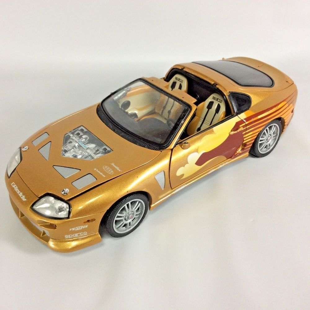 The 2 Fast Furious Racing Champions 1993 Toyota Supra 1 18 Scale Diecast Mode RacingChampions TOYOTA