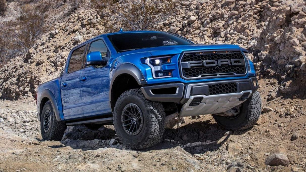 2020 All Ford F150 Raptor Style