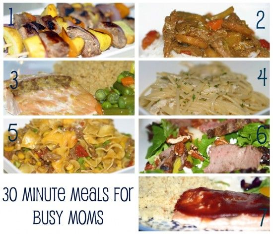 Seven 30 minute meals for busy moms recipes pinterest easy easy recipes seven 30 minute meals for busy moms guest post smockity frocks sisterspd