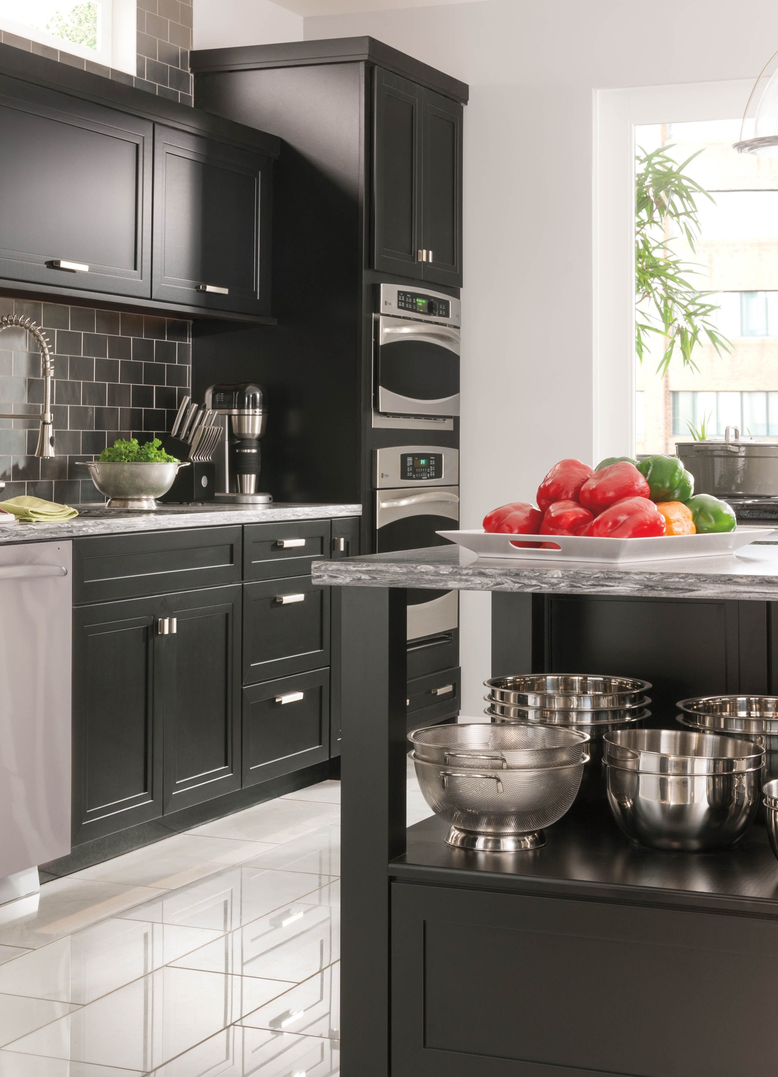 Planning A Kitchen Remodel Doesn T Have To Be A Nightmare Shop Marthastewartliving At The Home Depot Kitchen Layout Home Kitchens Kitchen Tiles Design