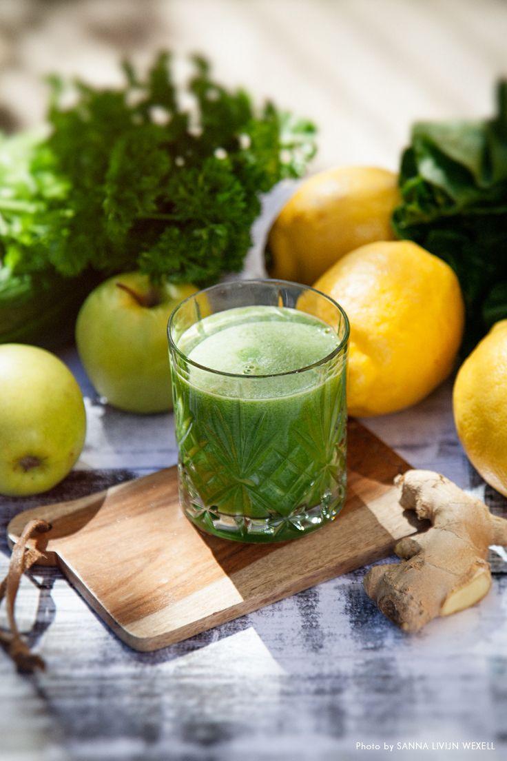 Råsaftcentrifug recept äpple