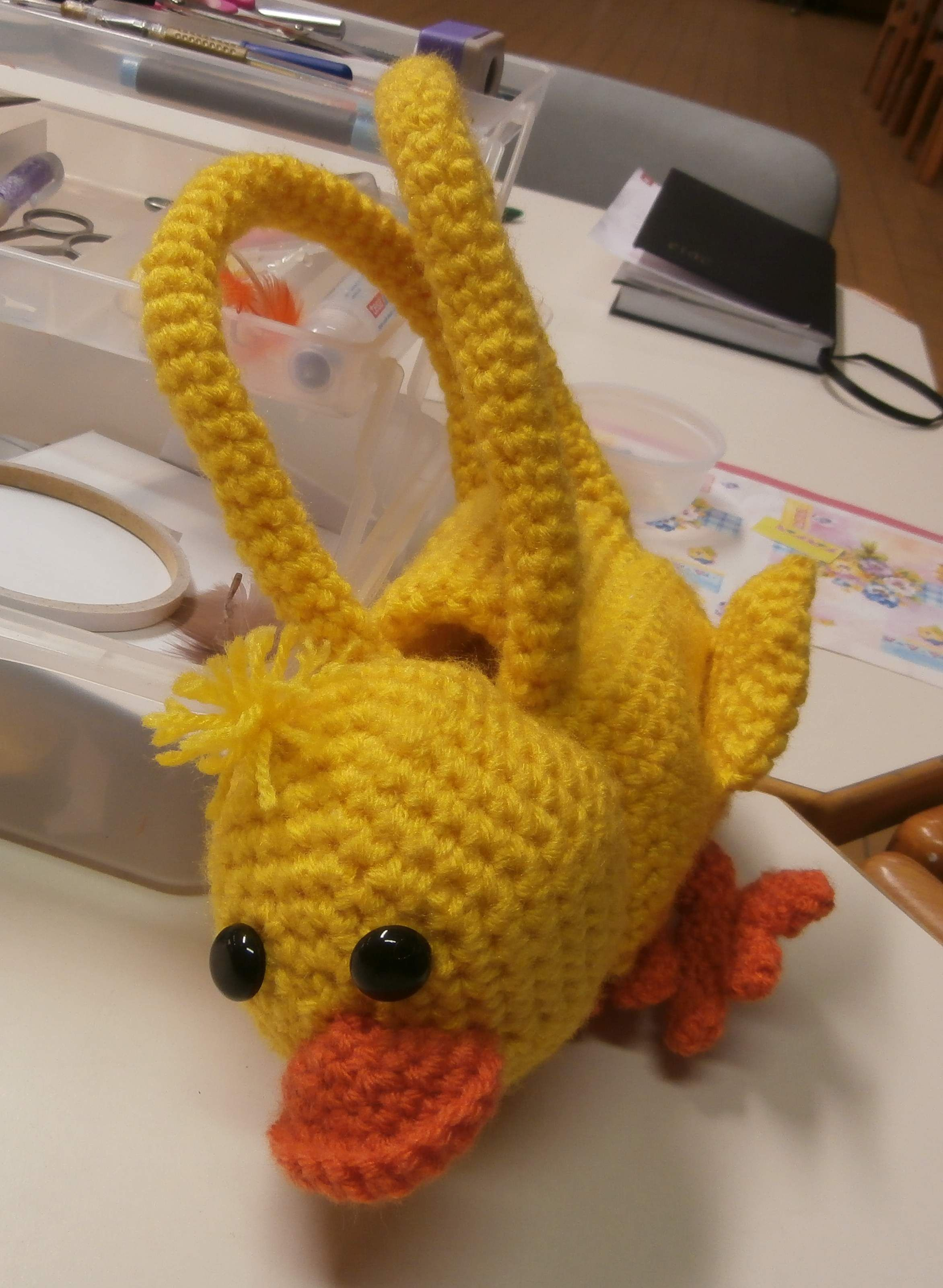 My Chicky Inspired By Cute Critter Purses To Crochet From Cindy