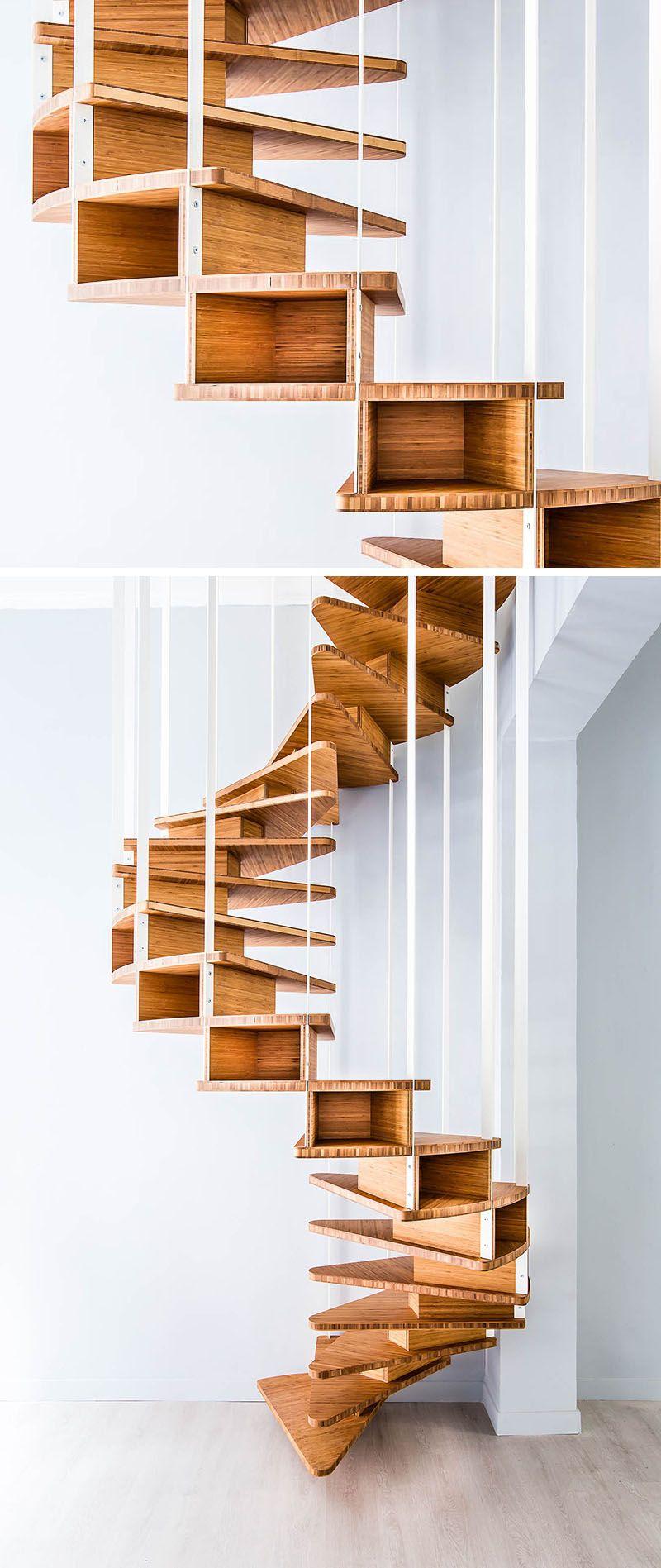 escalier int rieur design la beaut est dans les d tails escaliers pinterest escalier. Black Bedroom Furniture Sets. Home Design Ideas