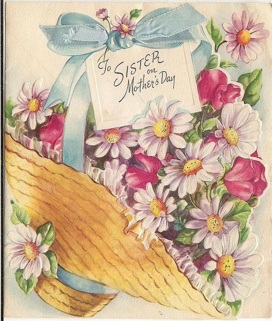 Mother S Day 1946 Happy Mothers Day Sister Mother Day Wishes Mothers Day Cards