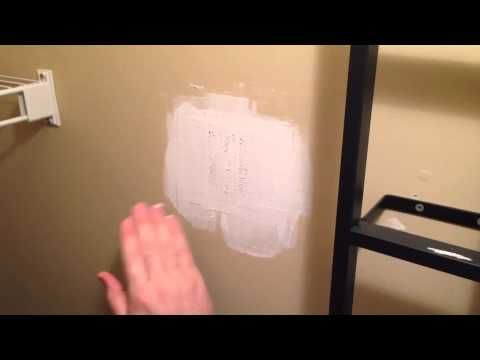 Drywall Patch Repair The Easy Way With Images Drywall Repair How To Patch Drywall Diy Home Repair