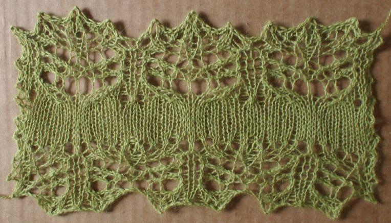 Melancholy A Free Lace Knitting Stitch Pattern Thanks To My
