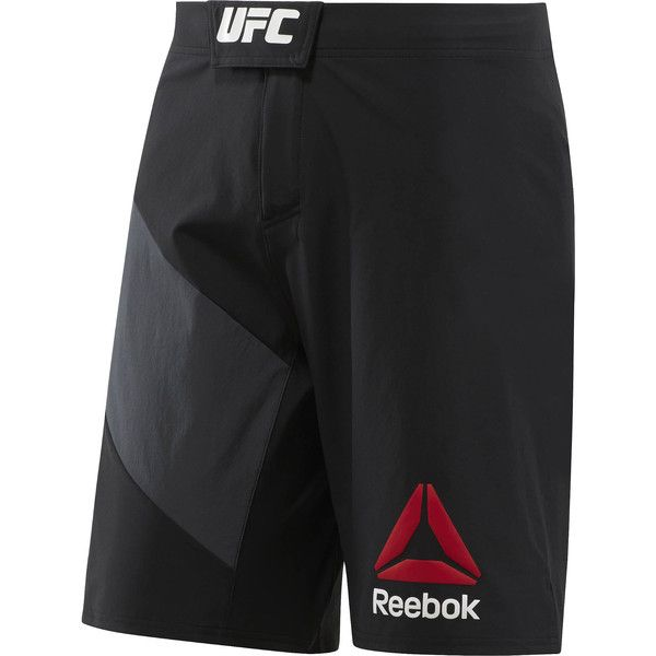Reebok UFC Octagon Short ($75) ❤ liked on Polyvore featuring men's fashion,  men's