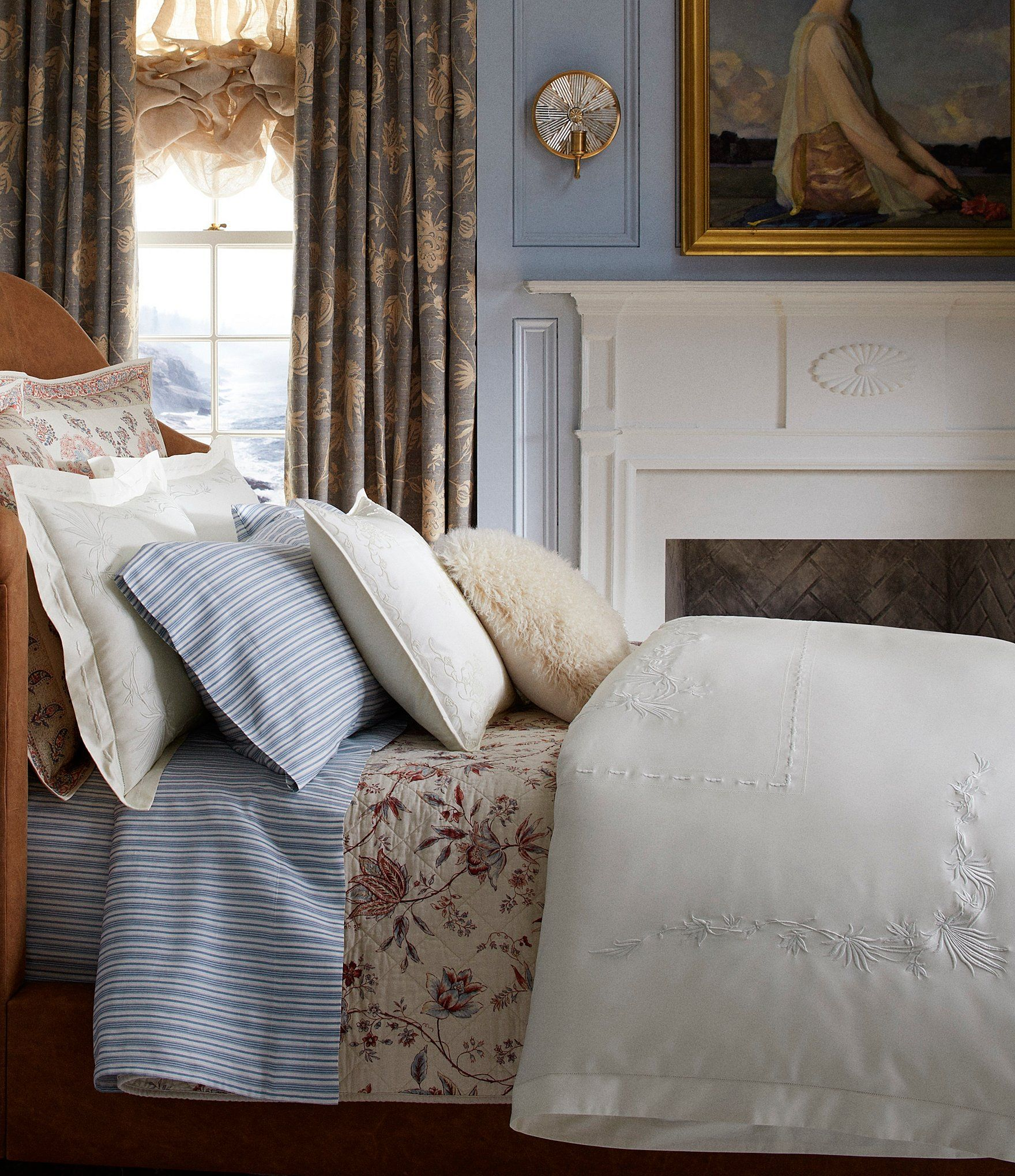 Ralph Lauren Isleboro Collection Hillsboro Comforter ...