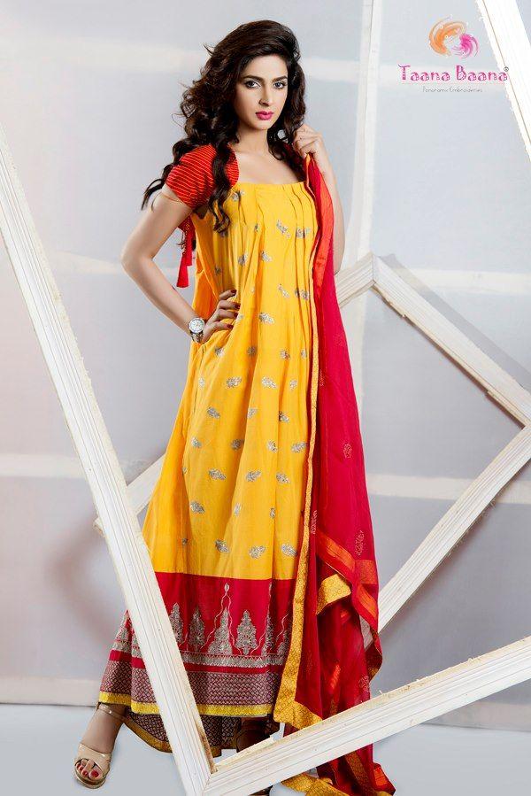 Dresses for Women | Taana-Baana-Nice-Summer-Lawn-Collection-2013 ...