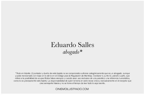 Abogado - Eduardo Salles