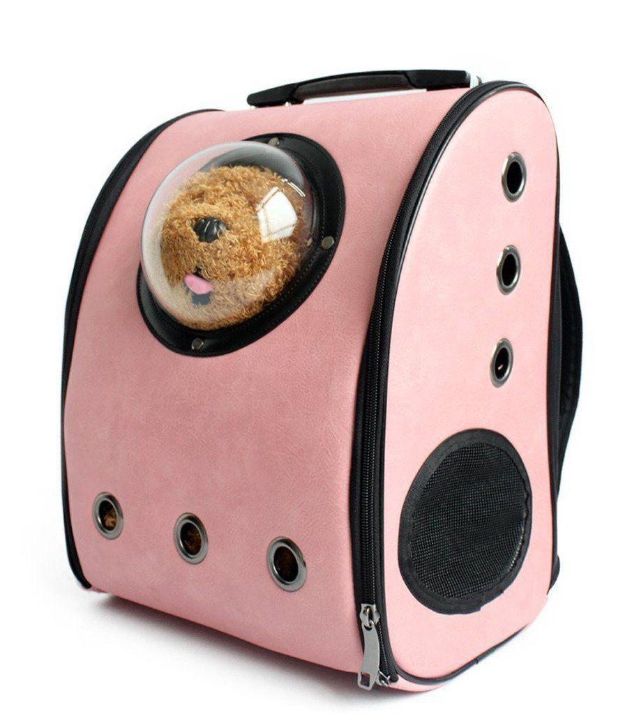 31fa589e220 Lovely summer Pet Dog Cat Puppy Carrier Traveler Bubble Backpack Travel  Shoulder Bag Dog Carrier Travel Sling Bag Small Dog Backpack *** Read more  reviews ...