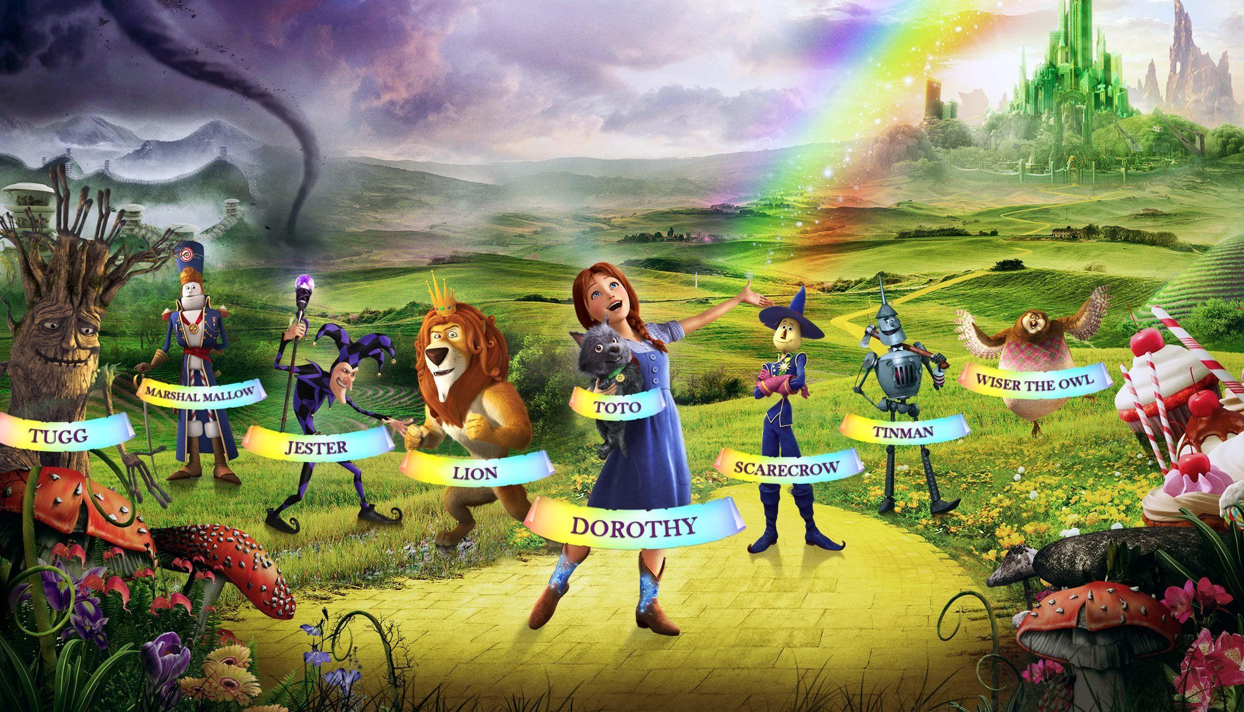 Wizard Of Oz Wallpaper Border Hd Wallpapers