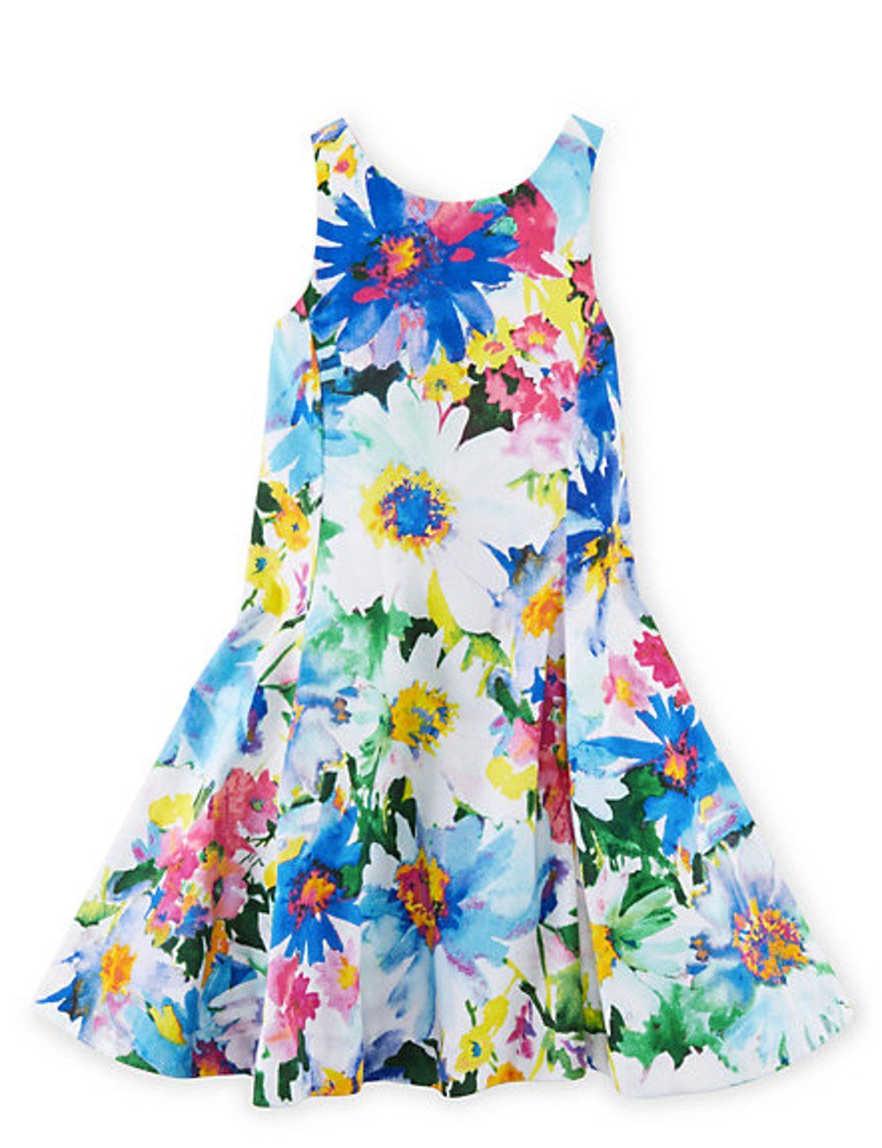 Ralph Lauren Girls Floral Cotton Sateen Dress 4t Turquoise Pink Multi Shell And Lining 100 Floral Print Sundress Toddler Girl Dresses Floral Cotton Dress [ 1644 x 1264 Pixel ]