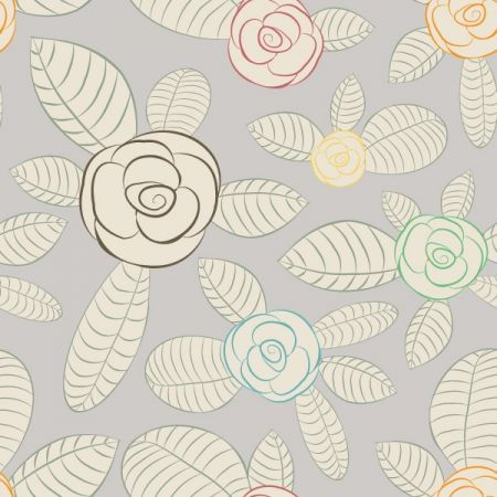 Website Resources | Free Seamless Backgrounds | Modern Floral Background