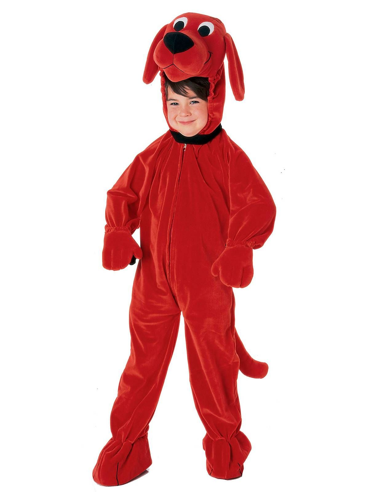 clifford the big red dog child costume cheap clifford costumes for boys