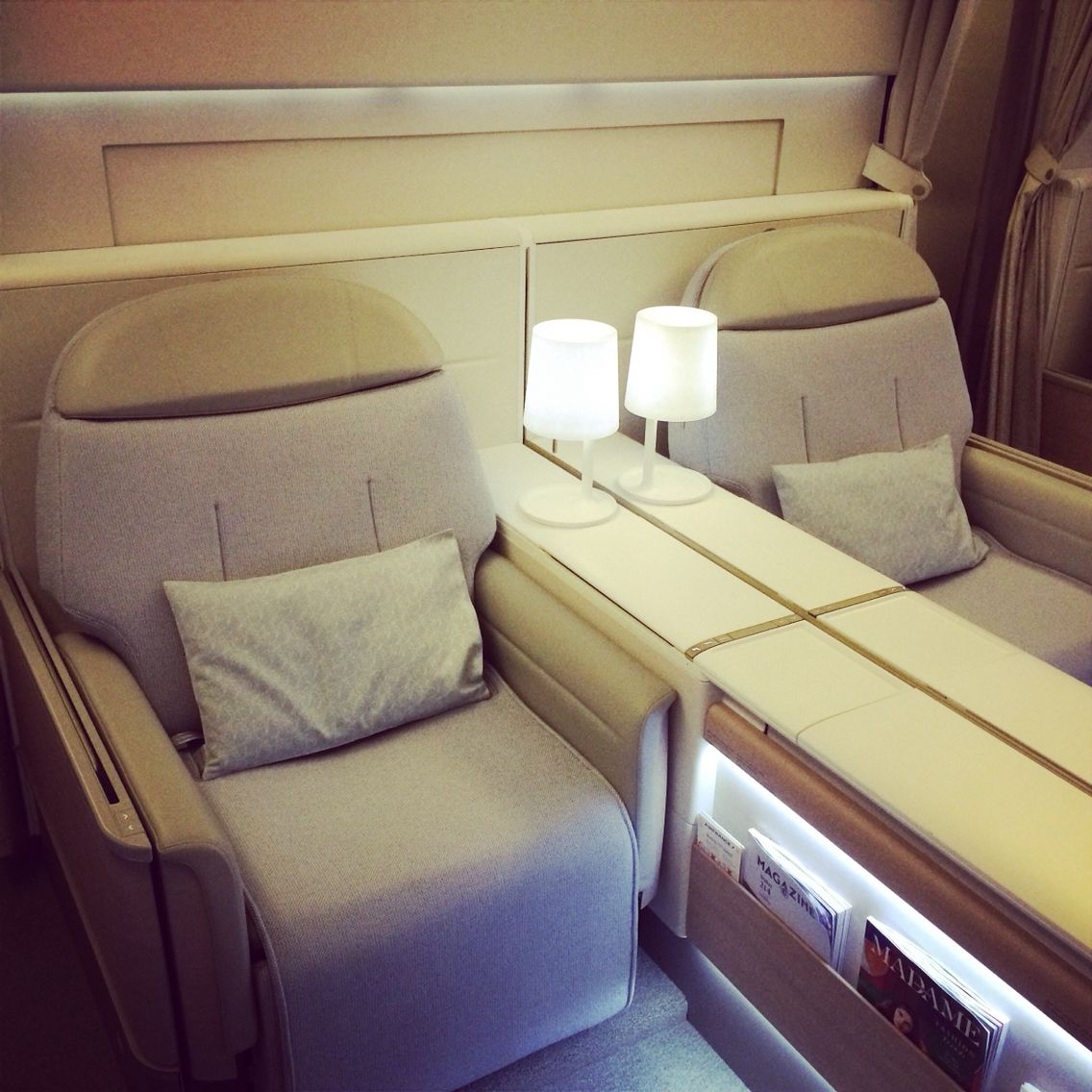 New first class air france cabine