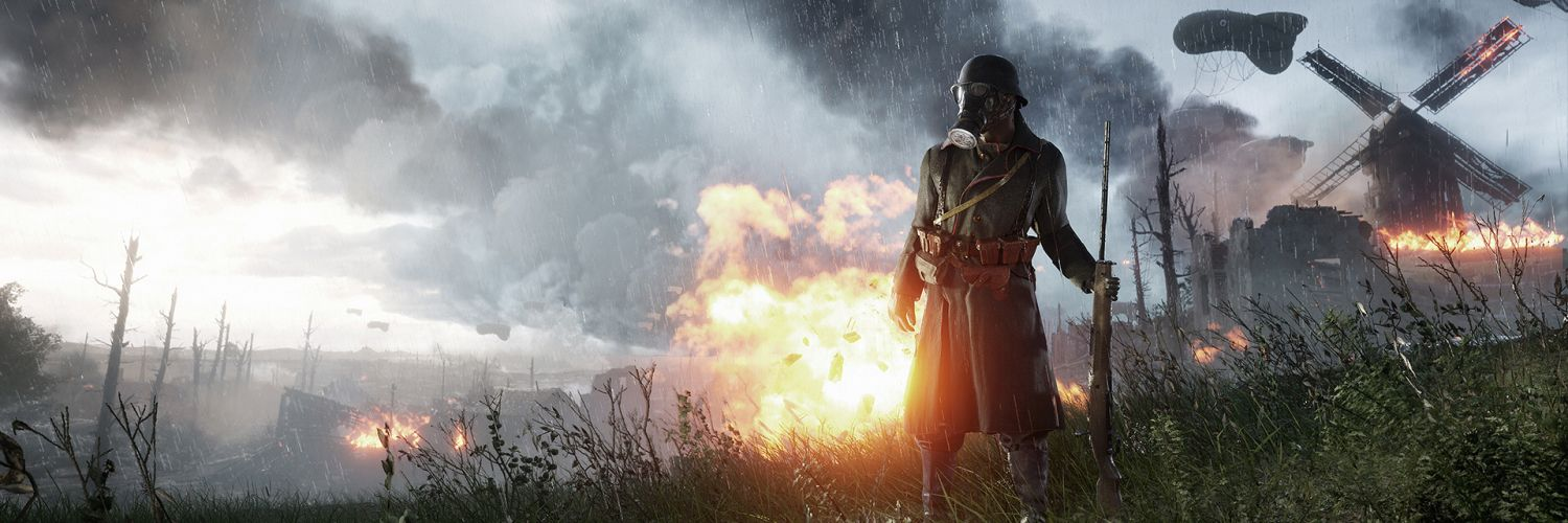Video Game Battlefield 1 Twitter Header With Images