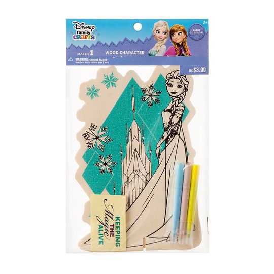 ©Disney Family Crafts Color-In Character, Frozen