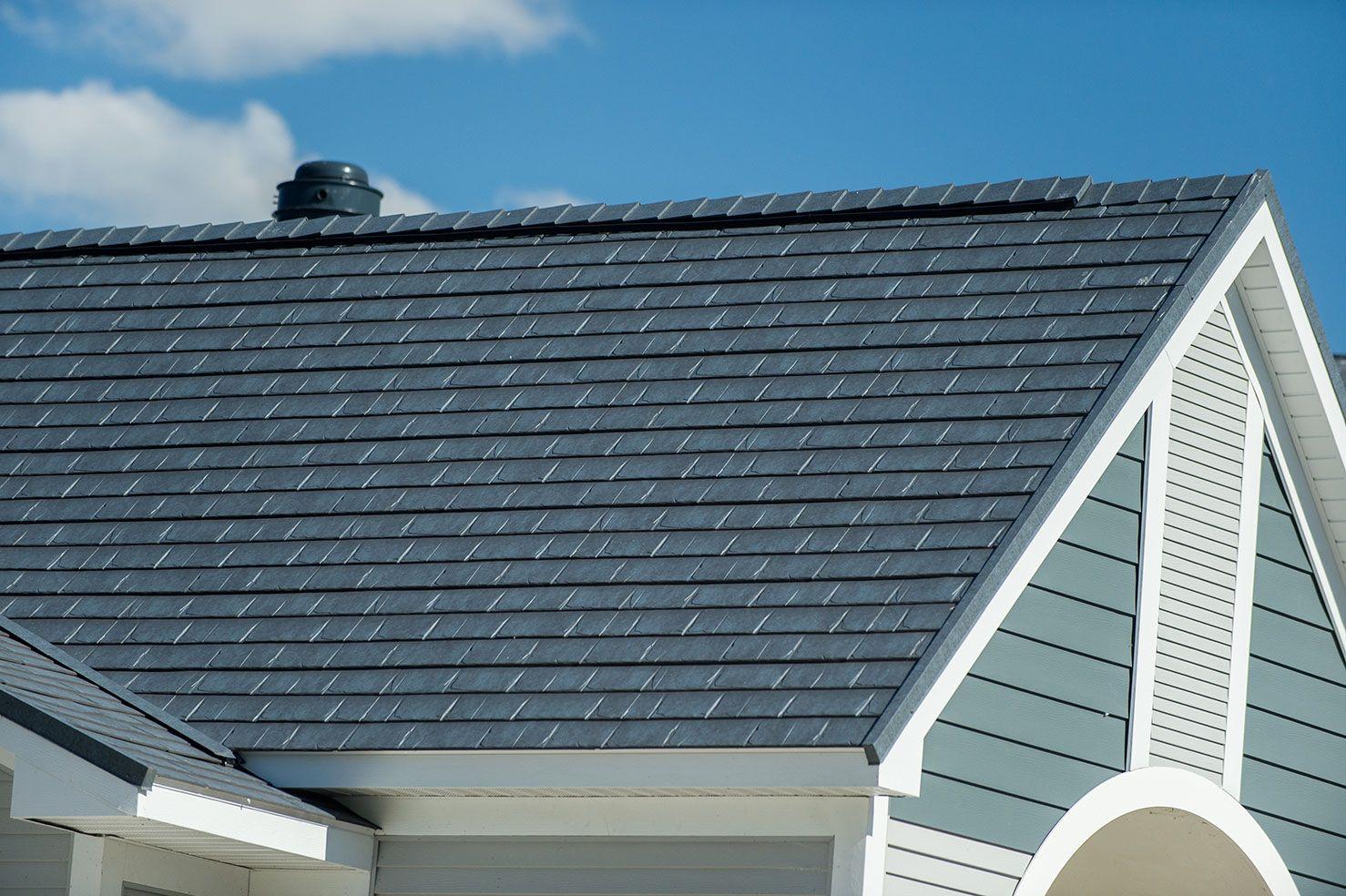 Slate Metal Roof Metal Roof Roofing Roof Repair