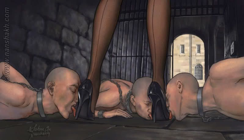 cougar femdom pillory