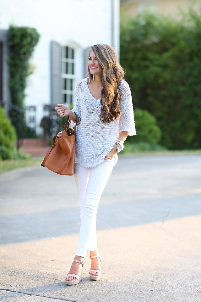 4f59f1161 Summer Sweater (Southern Curls & Pearls) | style | Fashion, Summer ...